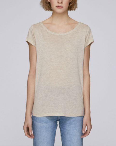 Damen | T-Shirt aus Modal-Naturfasern