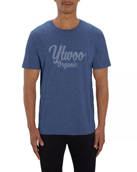 YTWOO T-Shirt | Organic | Indigo Meliert