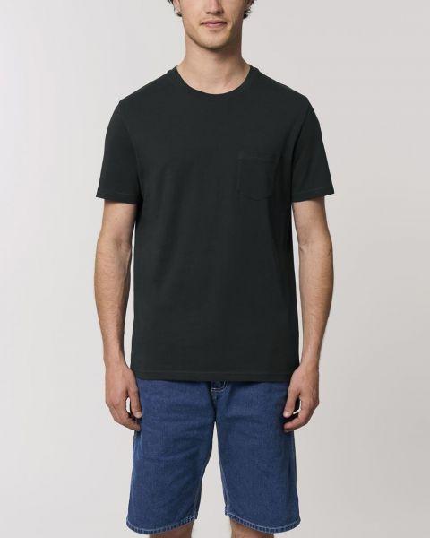 Herren & Damen | Bio T-Shirt mit Brusttasche