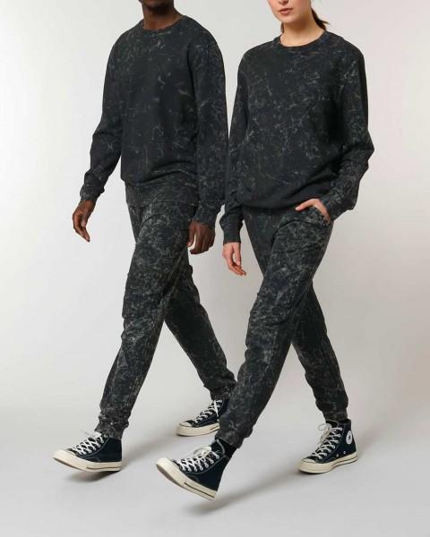 Jogginghose gefärbte Batik-Optik aus 100% Bio-Baumwolle