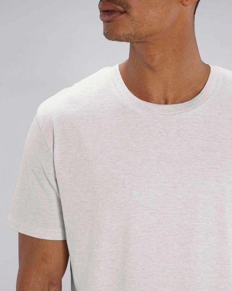 Basic T-Shirt | 100% Bio Baumwolle | 180 g/m² | leicht meliert