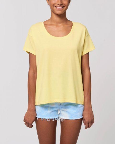 YTWOO | leichtes Damen Shirt mit überschnittenen Ärmeln