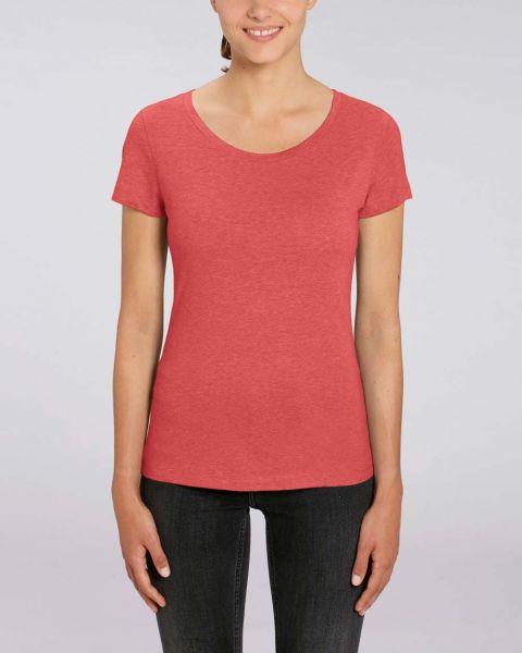 YTWOO | leichtes Damen T-Shirt aus 100% Bio-Baumwolle, meliert