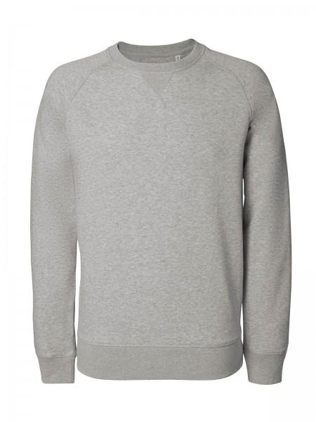 Switch Sweatshirt Bio-Bauwoll Mix Graumeliert