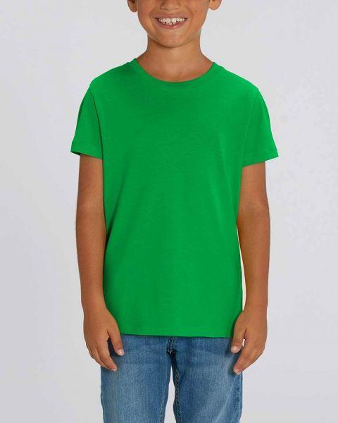 Kinder   Basic T-Shirt   unifarben   100% Bio Baumwolle