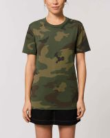 Fair Trade T-Shirt im Camouflage Look