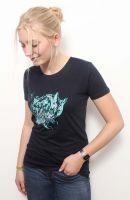 Damen T-Shirt aus 100% Baumwolle (Bio)