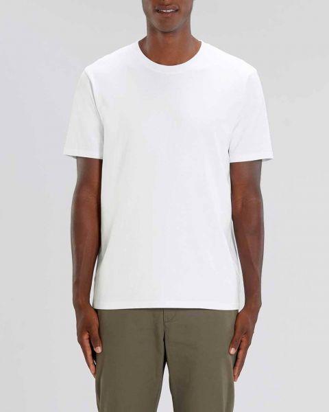 Männer T-Shirt Basic | Weiß | schwere Bio-Baumwolle | 220g/m² | Fair Trade