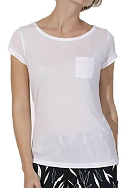 Damen   T-Shirt aus Modal-Naturfaser mit Brusttasche