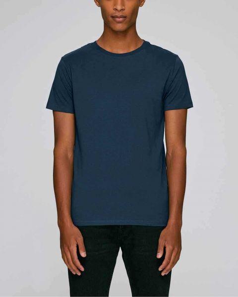 Kurzarm T-Shirt aus 100% Bio-Baumwolle, 155 g/m²