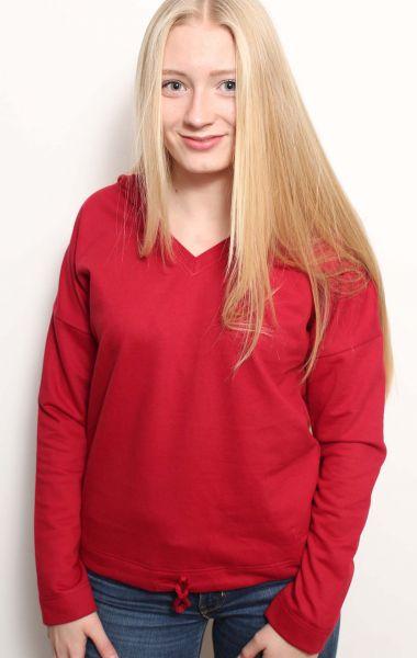 Damen | Hoodie Jacke aus Bio-Baumwolle, Made in Germany