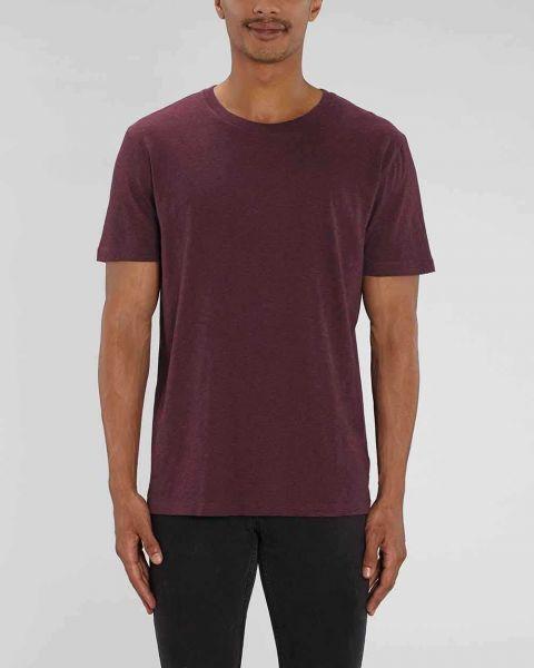 Basic T-Shirt | Männer | 100% Bio Baumwolle | 180 g/m² | meliert