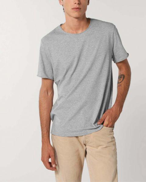 Unisex Basic T-Shirt | Bio-Baumwolle | unversäuberter Saum