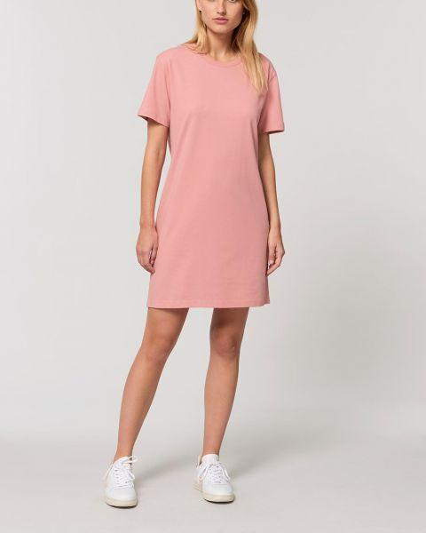 Sommerliches T-Shirt Kleid aus Bio Baumwolle