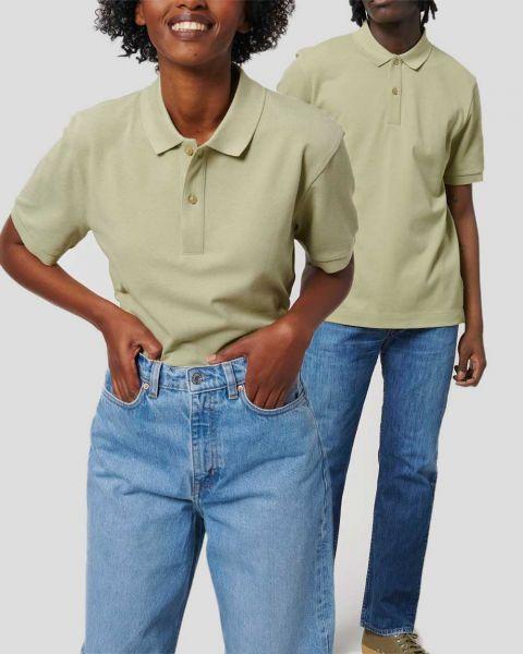 Unisex Poloshirt aus Bio-Baumwolle