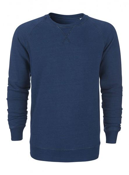 Indy Sweatshirt aus Bio-Baumwoll Mix Indigo