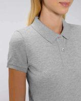 Poloshirt meliert | aus Bio Baumwolle