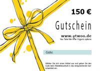 150 Euro Geschenkgutschein