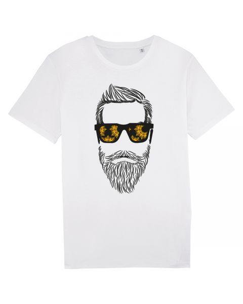 YTWOO | Herren T-Shirt aus 100% Baumwolle, Bart