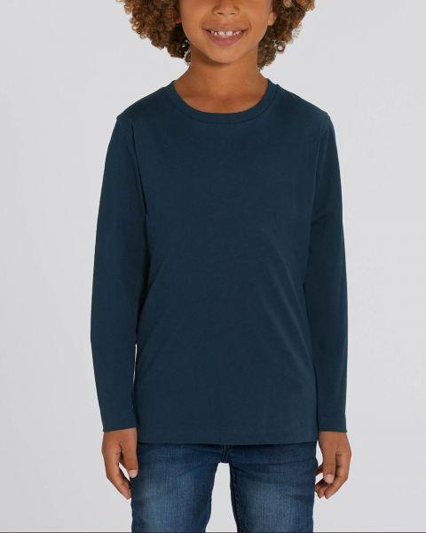Kinder Langarmshirt aus Bio Baumwolle