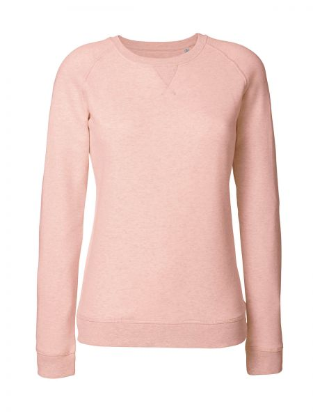 Tony Sweatshirt aus Bio-Baumwoll Mix Pink-Melange