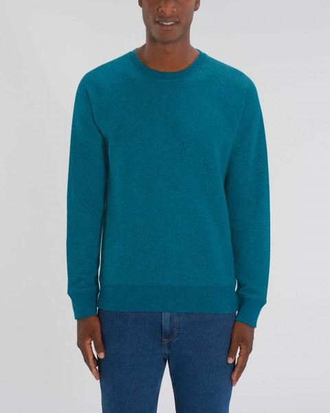 Herren   Sweatshirt, Sweater   meliert   nachhaltig   Fair Trade