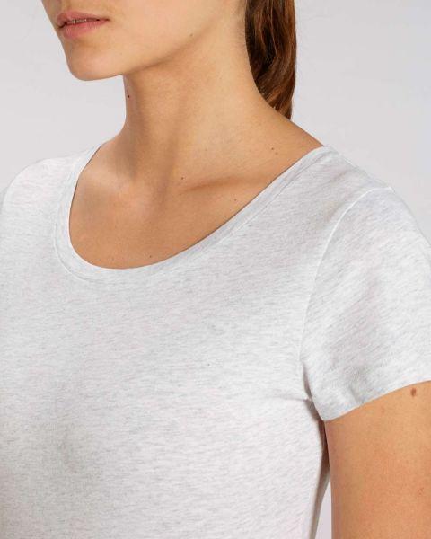 YTWOO | Damen T-Shirt aus leichter Bio-Baumwolle, meliert