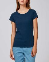Amy | Damen Basic T-Shirt aus Bio-Baumwolle