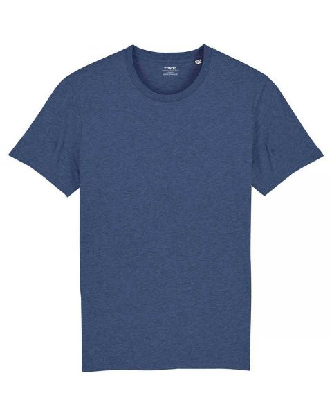 Basic T-Shirt | Männer | 100% Bio Baumwolle | 180 g/m² | leicht meliert