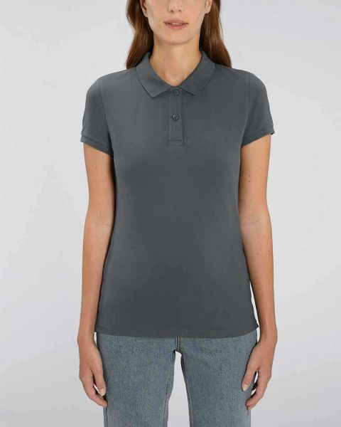 Poloshirt für Damen aus Bio Baumwolle