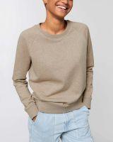 Damen | Bio-Pullover mit Rundhals Ausschnitt
